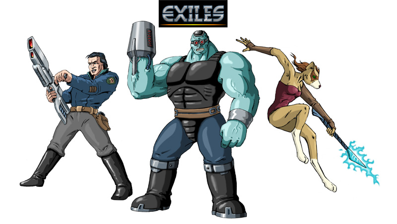 Exiles characters