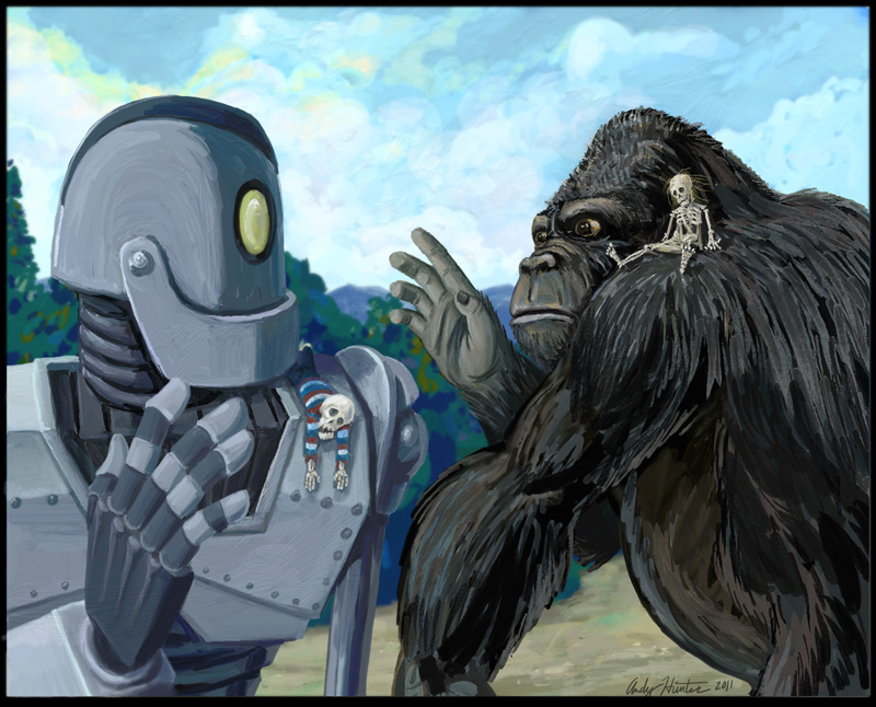 Iron Giant King Kong