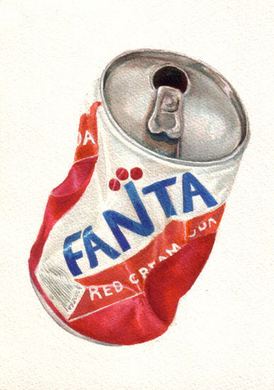 Fanta Red Cream Soda Can
