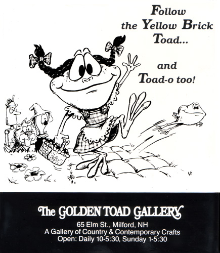 Yellow Brick Toad